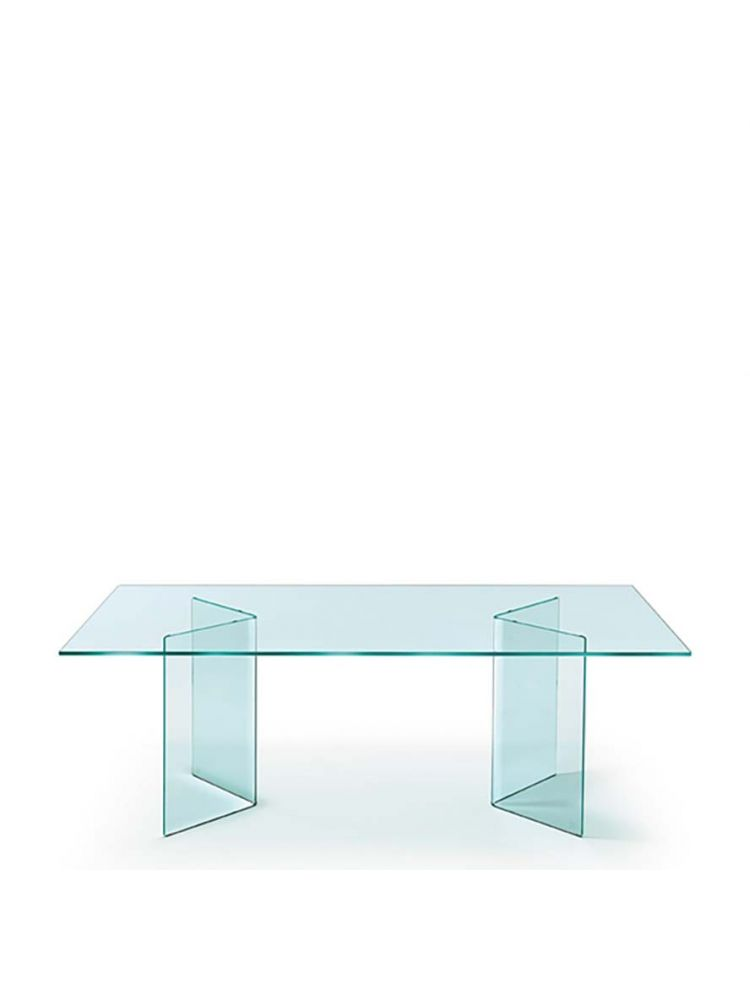Corner Glass Table