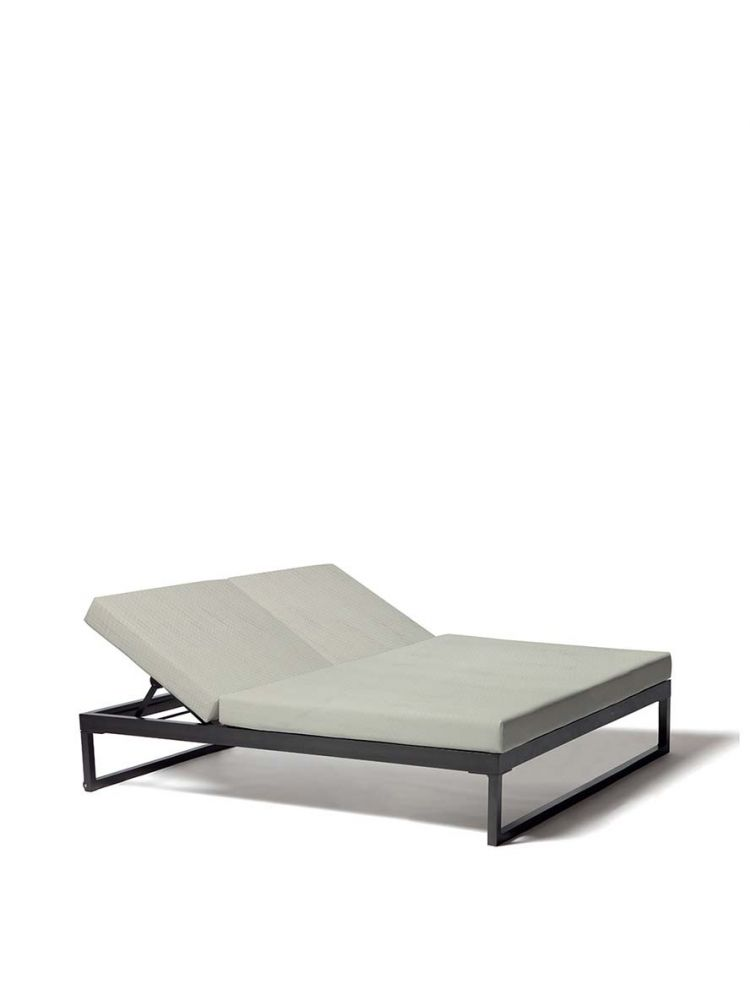 Landscape 5 Position Double Lounger