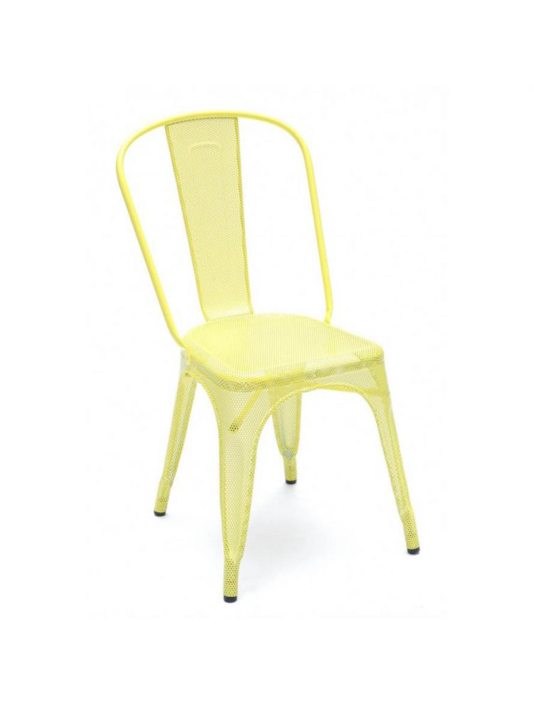 Perforated A Chair