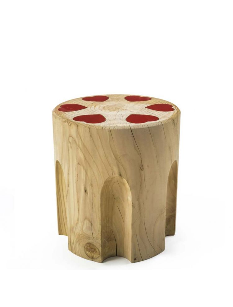 Hearts-Shoter Stool